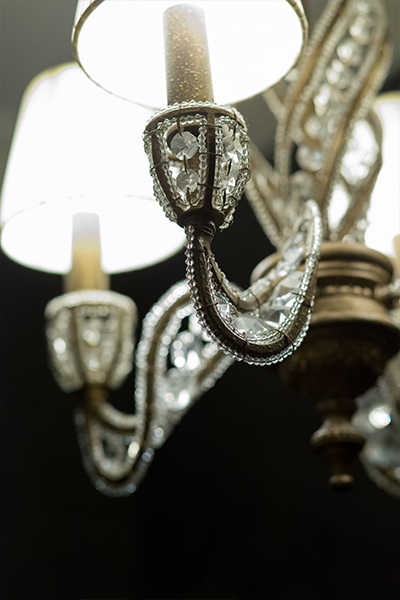 Coulters Living - Laura Blair Interior Designs Chandelier