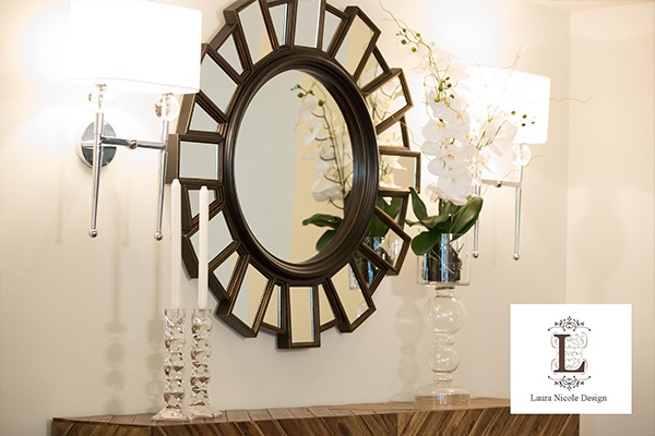 Coulters Living - Laura Blair Interior Designs Fall Mirror