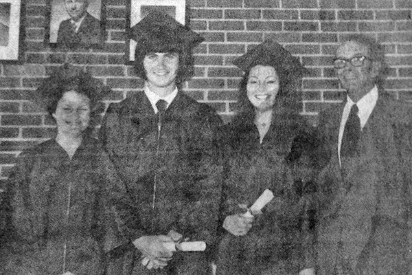 Graduation 1975 Sofa