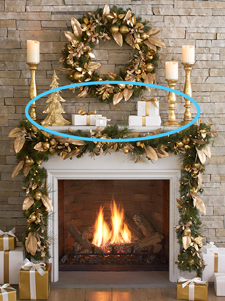 Coulters Living How to Decorate a Christmas Mantel Filler Pieces