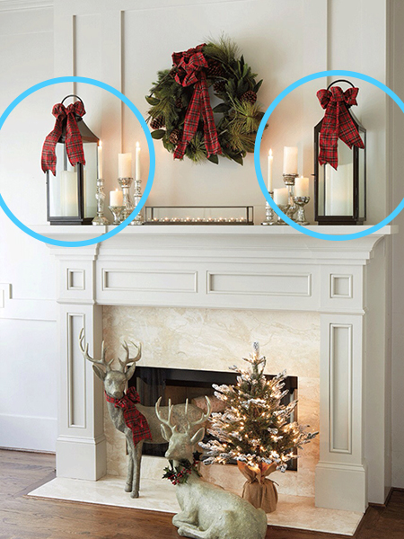 Coulters Living How to Decorate a Christmas Mantel End Pieces