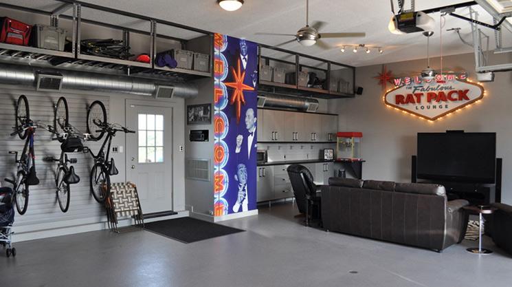 Man Cave Garage Ideas Ratpack
