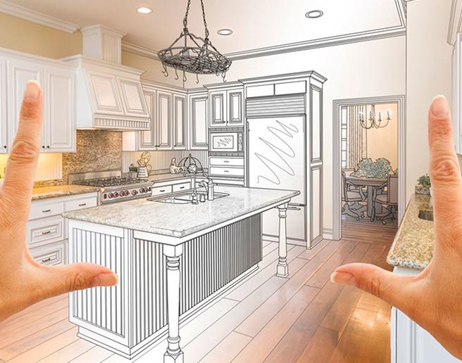 Home renovation concept dream