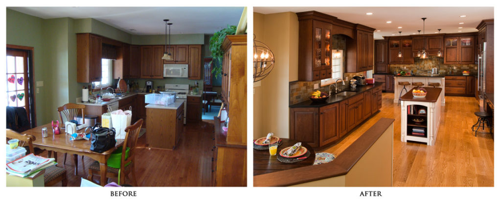 Home Renovation Kitchen before after