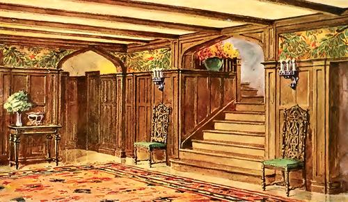 1900's Wallpaper Interior