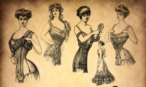 Vintage Corsets Women