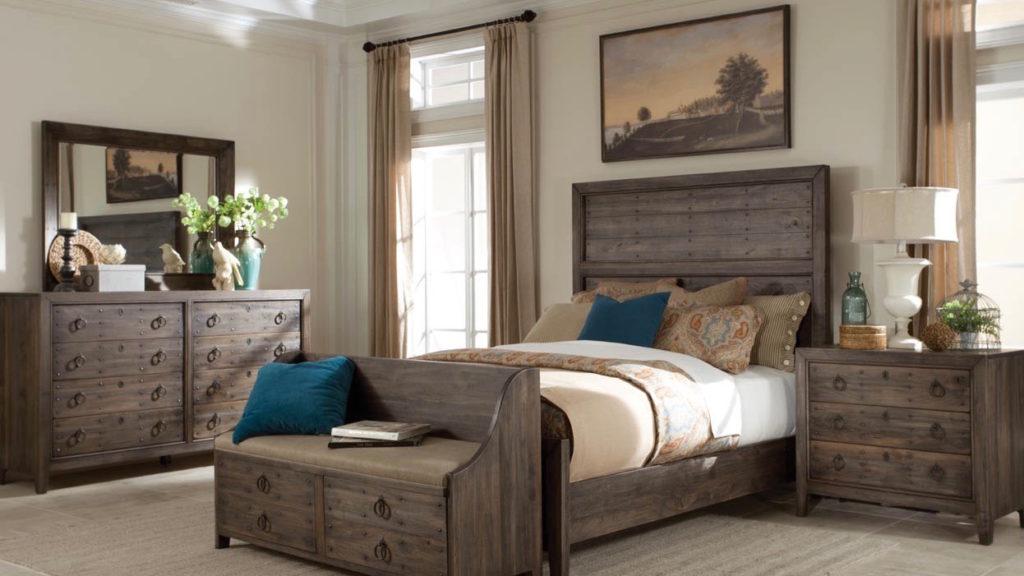 Durham Bedroom Set Rustic Wood