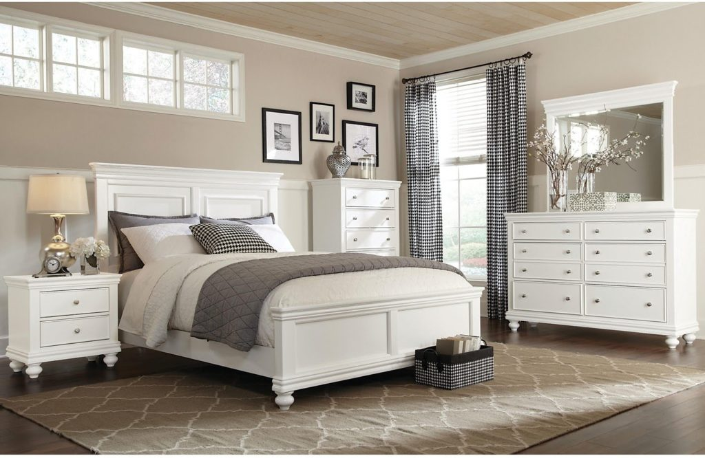Durham Bedroom Set White