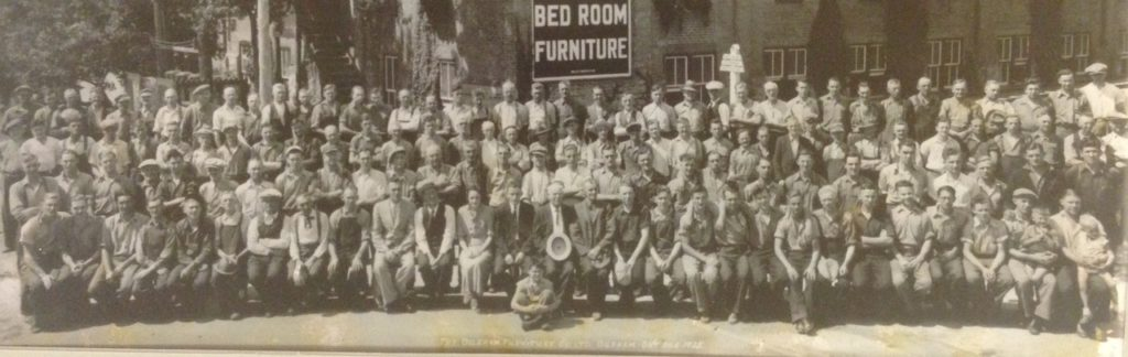 Durham Furniture Staff 1938