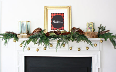 Coulters Living How to Decorate a Christmas Mantel