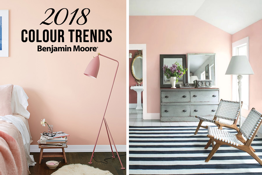 Intimacy And Excitement Benjamin Moore Color Trends 2018 Coulter S Living