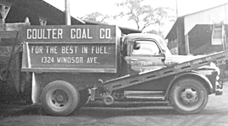 coulters coal truck 2 Our History
