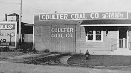 coulters coal Our History