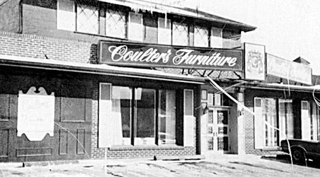 coulters furniture Our History
