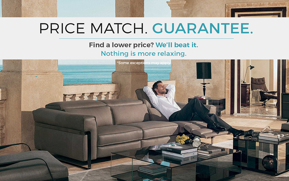 Coulter's Furniture Price Match Guarantee Deal