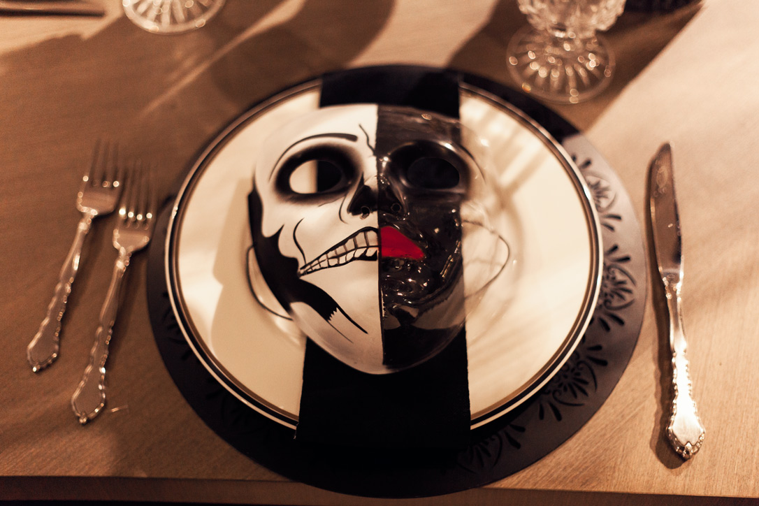 2016 Halloween Home Ideas Decorations Coulters Furniture Skull Plate 15 Easy Halloween Decoration Ideas For Your Home