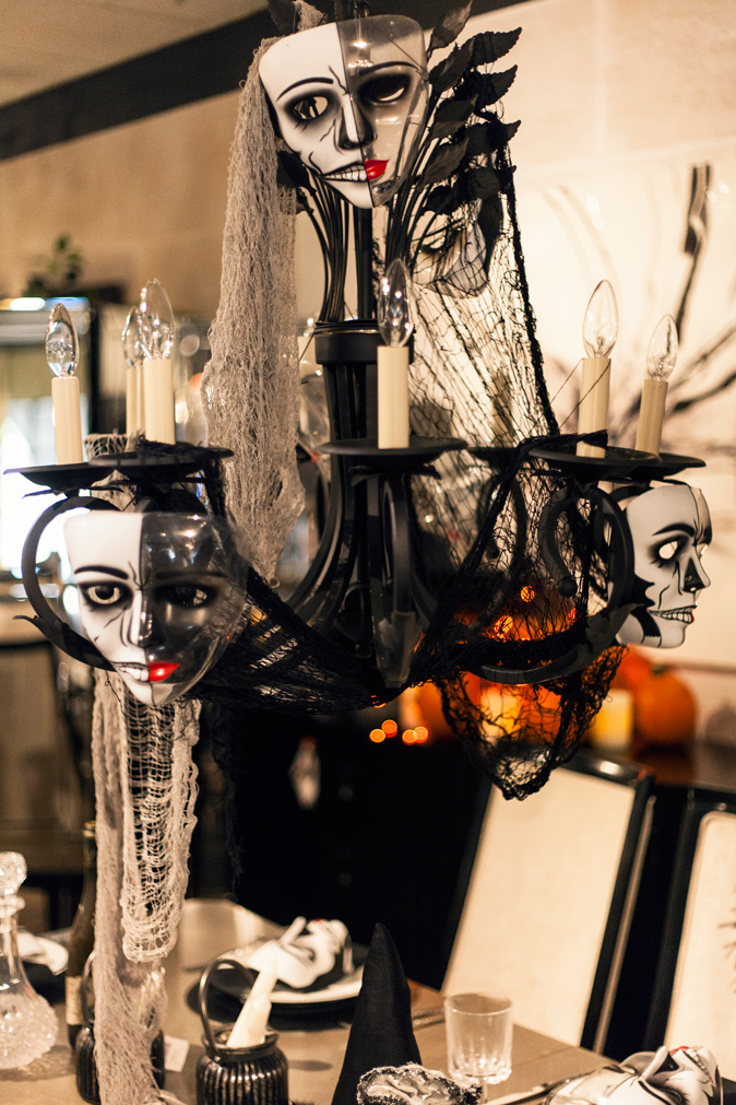 2016 Halloween Home Ideas Decorations Coulters Furniture SkullChandelier 15 Easy Halloween Decoration Ideas For Your Home
