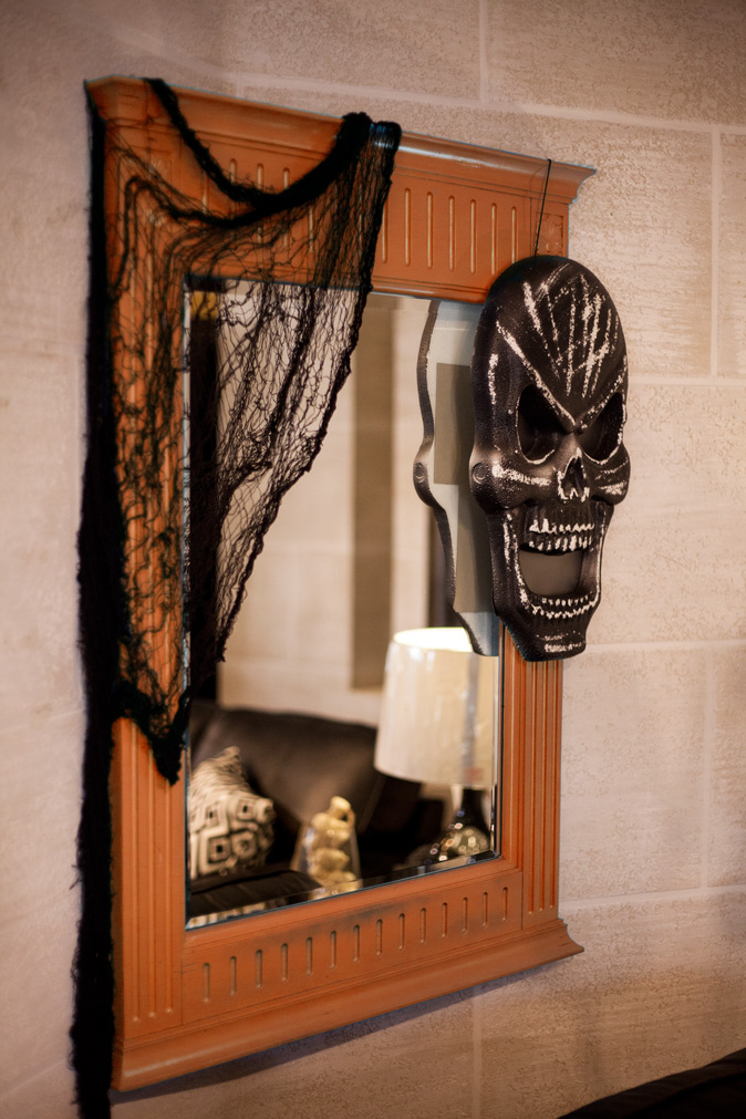 2016 Halloween Home Ideas Decorations Coulters Furniture Spooky Mirror 15 Easy Halloween Decoration Ideas For Your Home