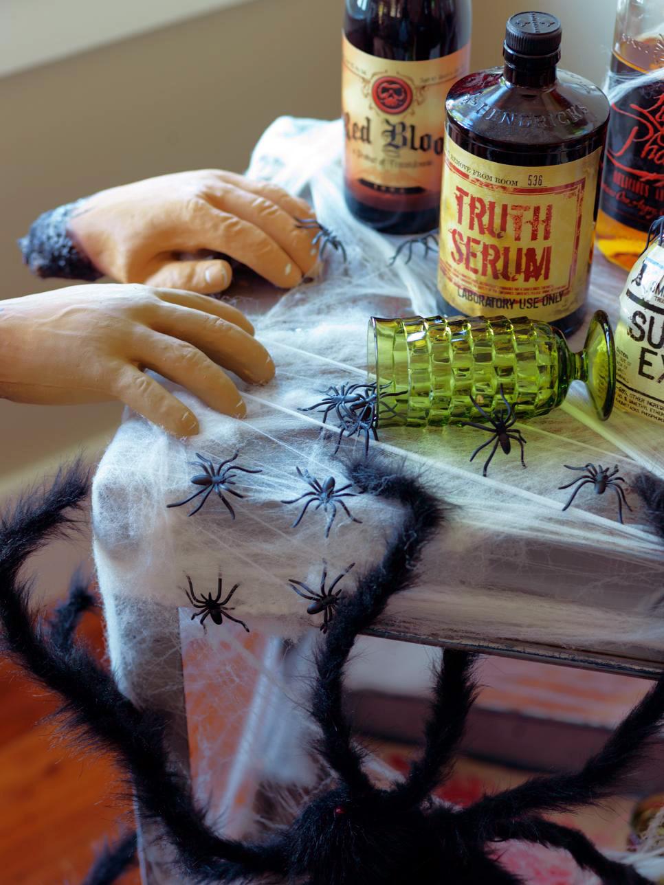 CI Susan Teare Halloween Bar s3x4.jpg.rend .hgtvcom.966 15 Easy Halloween Decoration Ideas For Your Home