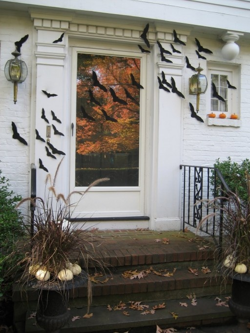 a brood of bats 15 Easy Halloween Decoration Ideas For Your Home