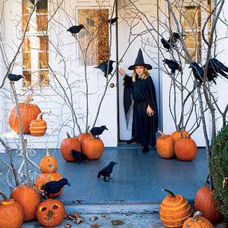 haunted forest 15 Easy Halloween Decoration Ideas For Your Home