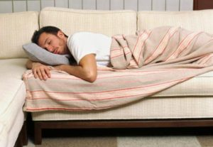 sleepcouch 300x207 5 Signs That Its Time To Change Your Mattress