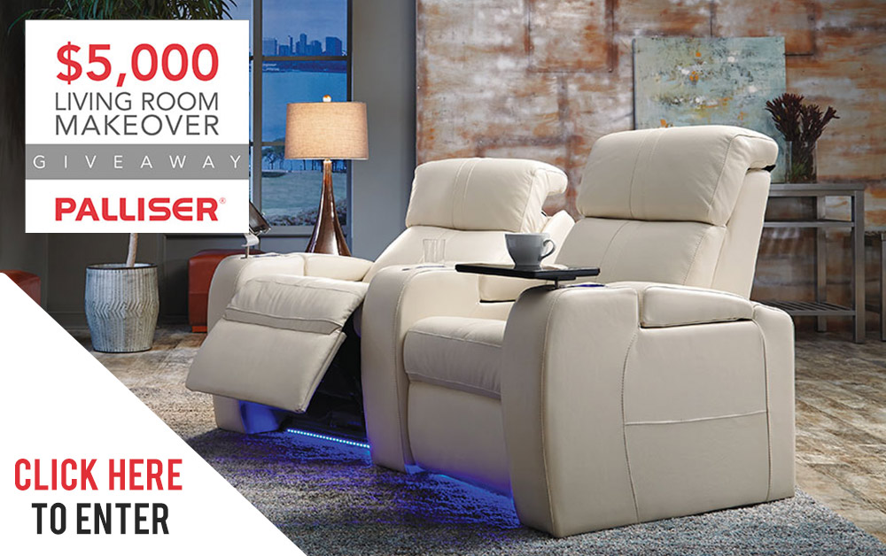 Palliser Contest Giveaway Coulters Furniture Sales