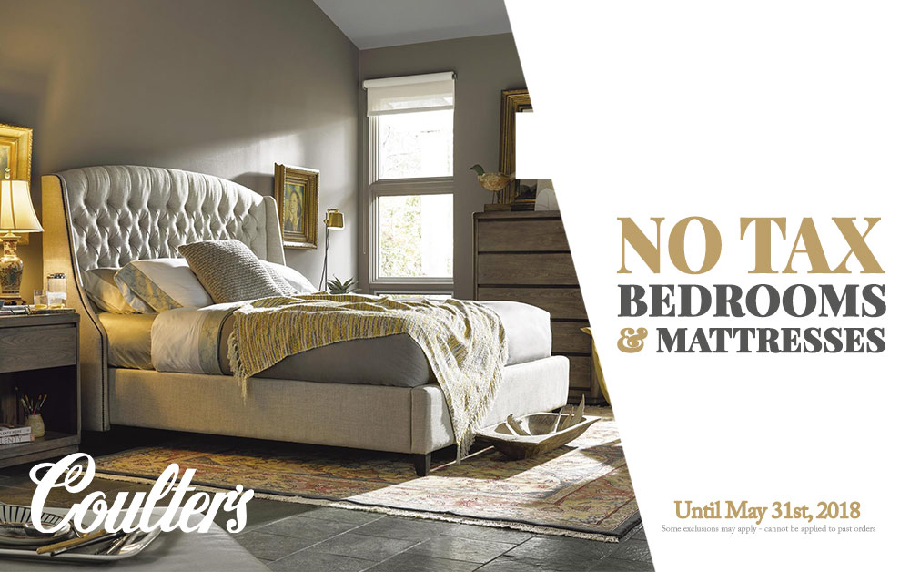 No Tax Sale Bedroom Sets Mattresses Coulters Furniture 2018 Sales
