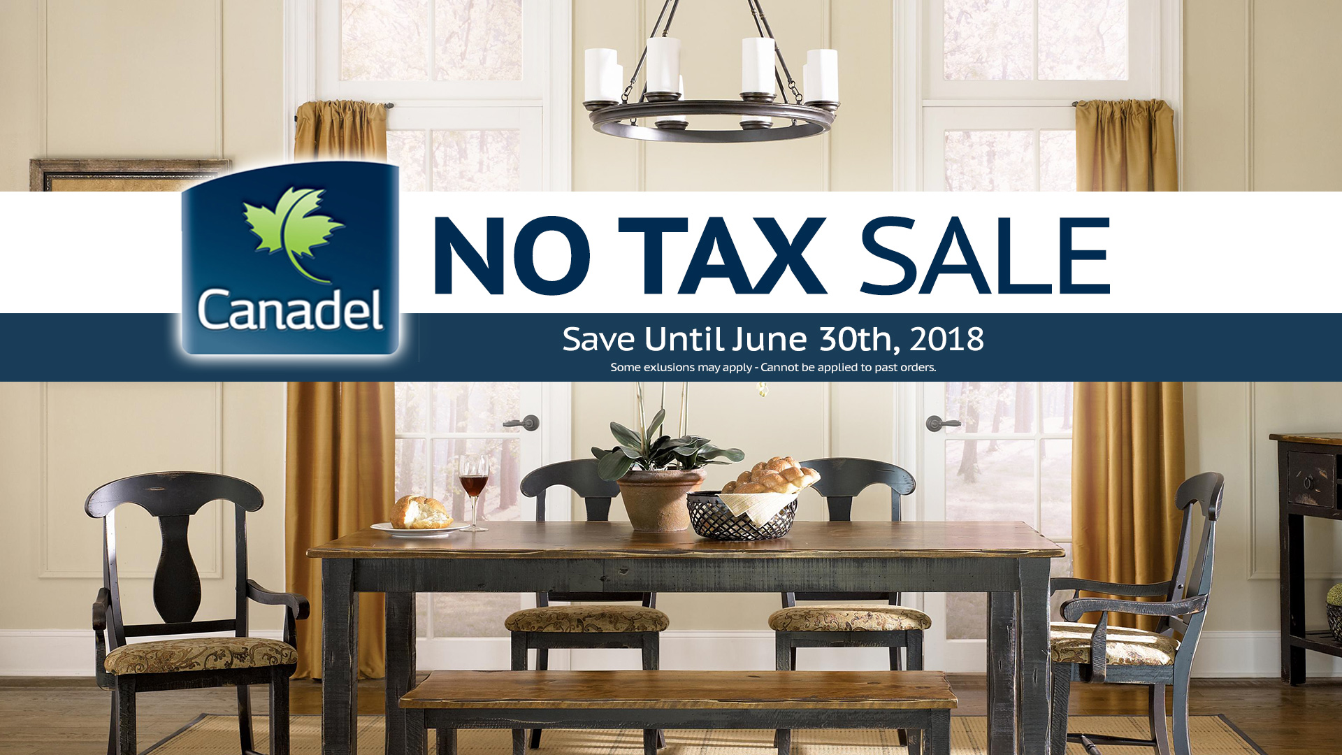 Canadel No Tax Sale Dining Tables Windsor Coulters Home