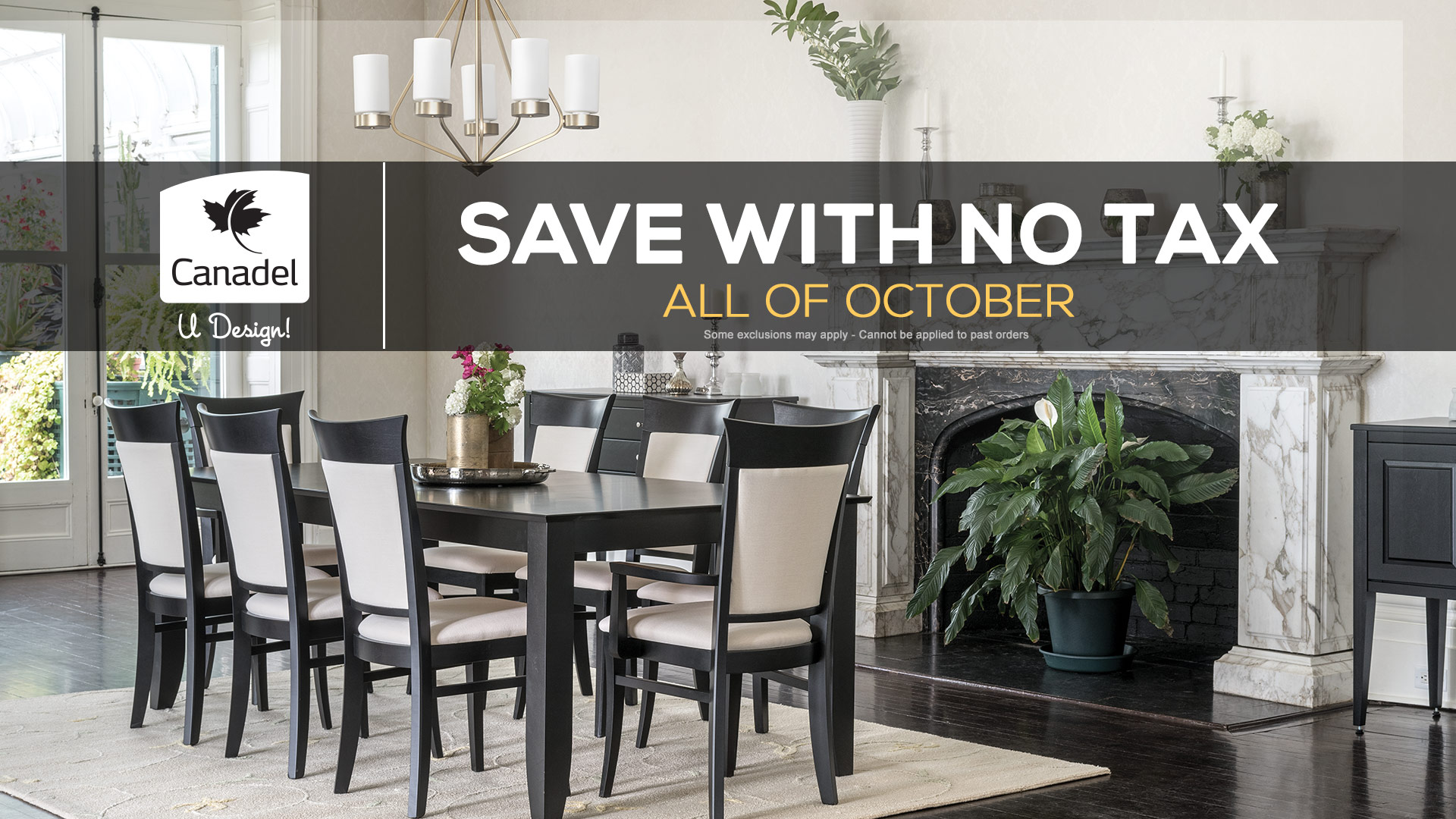 Canadel Dining Table Sale October Windsor Coulters Home