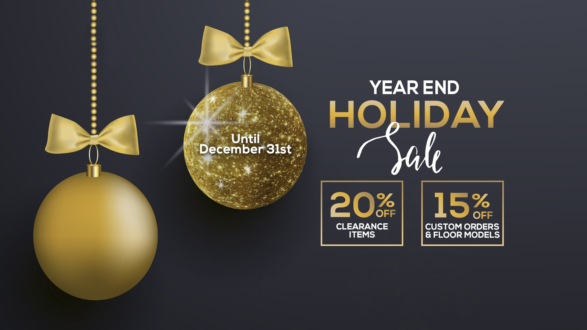 Coulters Holiday Year End Sale 2018 Slider Home