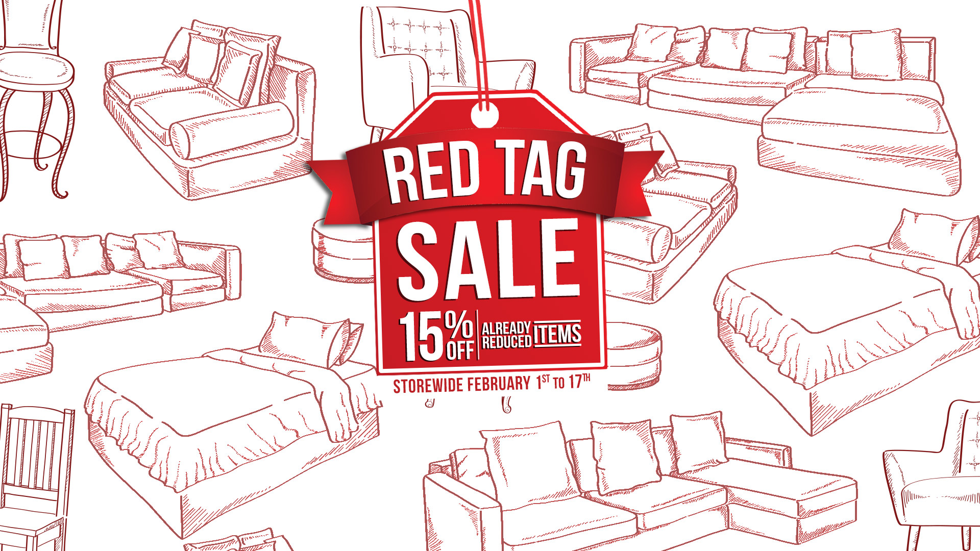 Red Tag Furniture Sale Coulters Jan 2019 Home