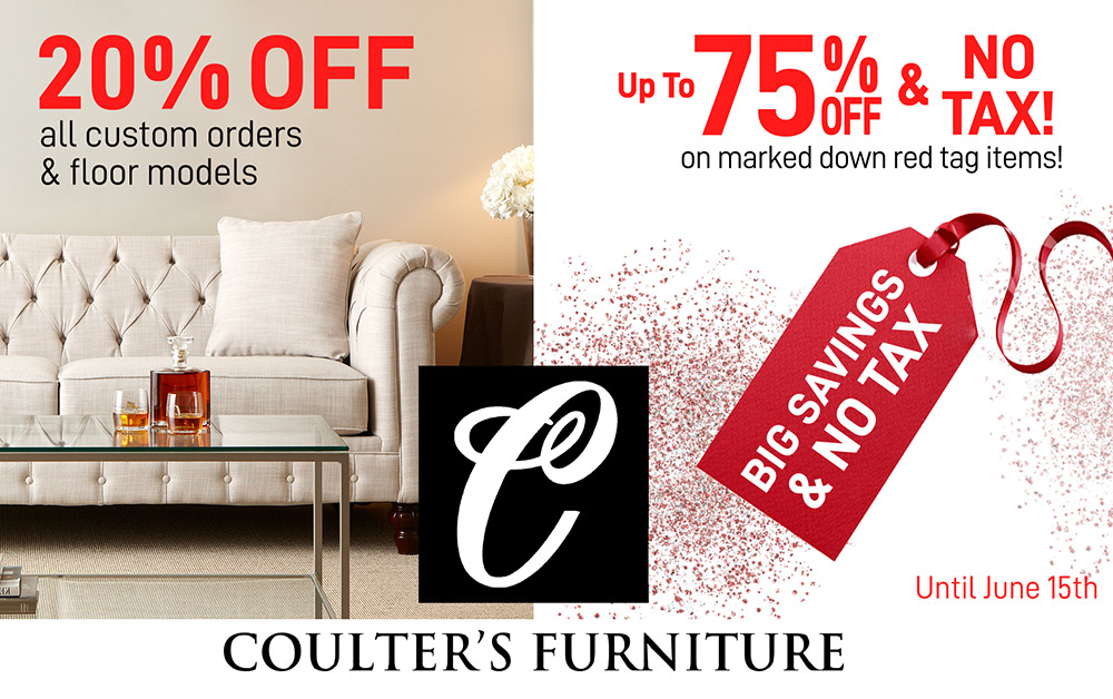 coulters may sale 2020 furniture windsor Sales