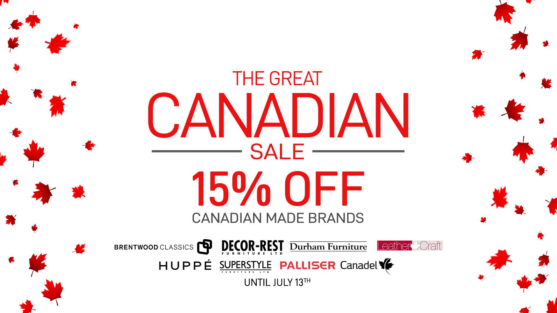 Canadian sale slider Home